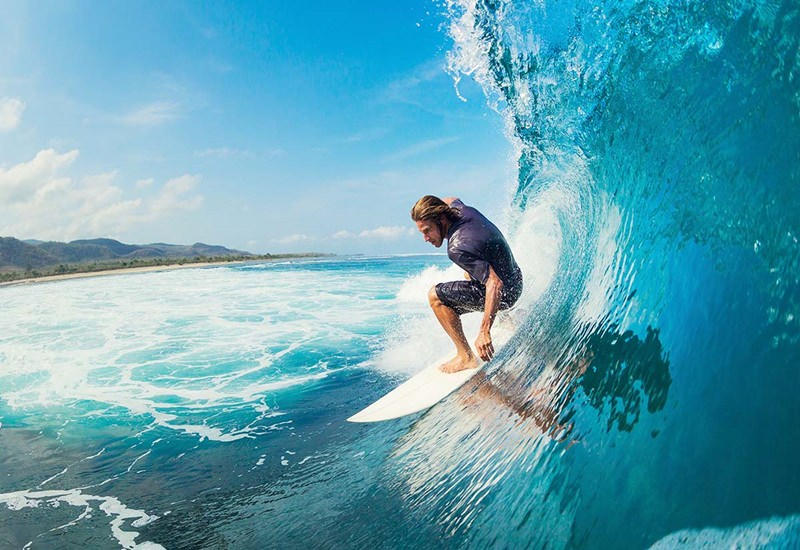 Surfing & Diving